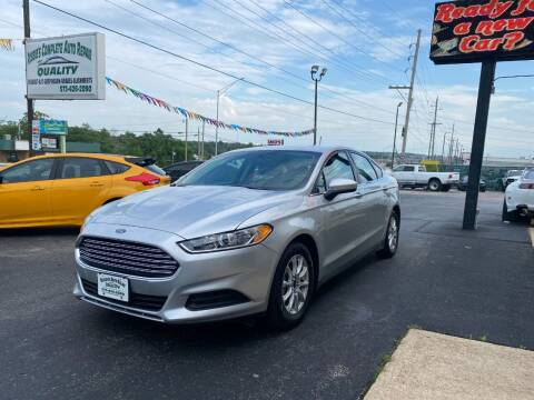 2016 Ford Fusion for sale at Robbie's Auto Sales and Complete Auto Repair in Rolla MO