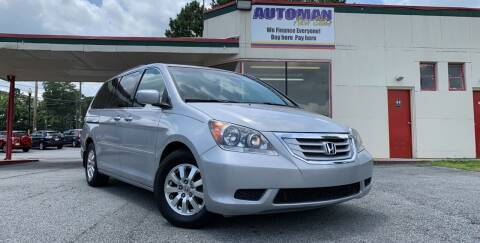 2010 Honda Odyssey for sale at Automan Auto Sales, LLC in Norcross GA