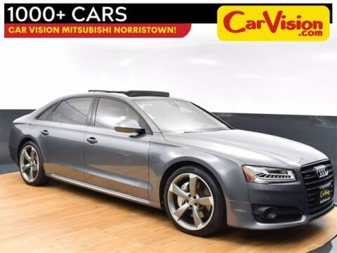 2018 Audi A8 L for sale at Car Vision Buying Center in Norristown PA