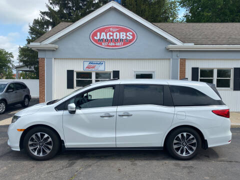 2021 Honda Odyssey for sale at Jacobs Motors LLC in Bellefontaine OH