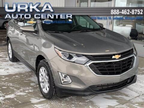 2018 Chevrolet Equinox for sale at Urka Auto Center in Ludington MI