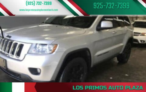 2012 Jeep Grand Cherokee for sale at Los Primos Auto Plaza in Antioch CA