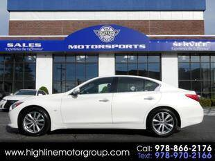 2015 Infiniti Q50 for sale at Highline Group Motorsports in Lowell MA