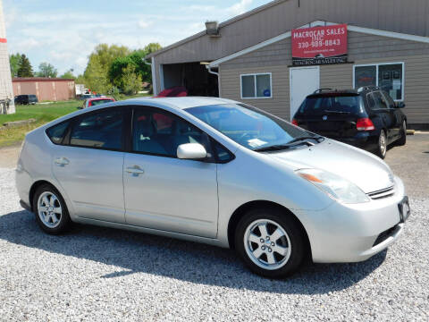 2005 Toyota Prius for sale at Macrocar Sales Inc in Akron OH