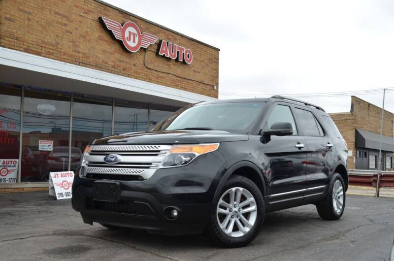2013 Ford Explorer for sale at JT AUTO in Parma OH