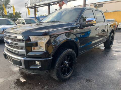 2015 Ford F-150 for sale at AUTO ALLIANCE LLC in Miami FL