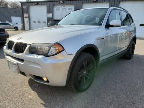 2006 BMW X3 for sale at MX Motors LLC in Ashland MA