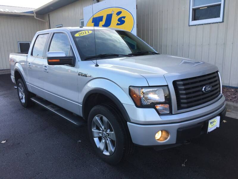 2011 Ford F-150 4x4 FX4 4dr SuperCrew Styleside 5.5 ft. SB - Wisconsin Rapids WI
