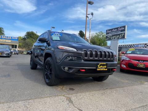2016 Jeep Cherokee for sale at Save Auto Sales in Sacramento CA