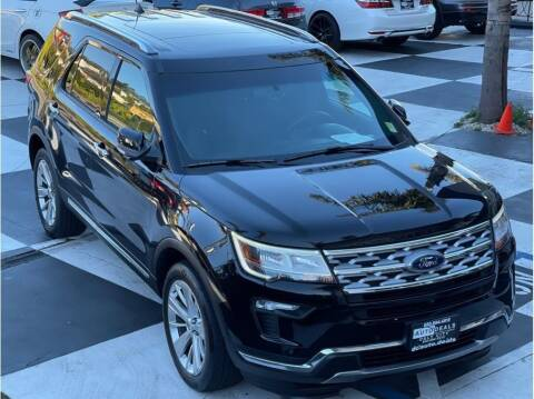 2019 Ford Explorer for sale at AutoDeals in Daly City CA