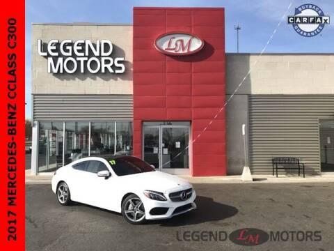 2017 Mercedes-Benz C-Class for sale at Legend Motors of Detroit - Legend Motors of Ferndale in Ferndale MI