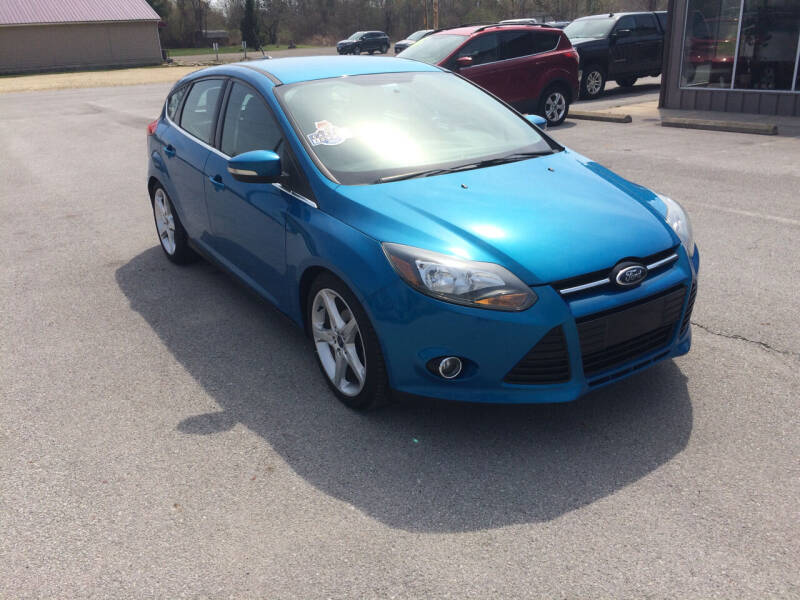 2014 Ford Focus for sale at KEITH JORDAN'S 10 & UNDER in Lima OH
