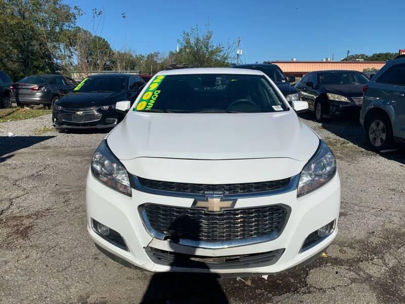 2015 Chevrolet Malibu for sale at Auto Mart in North Charleston SC