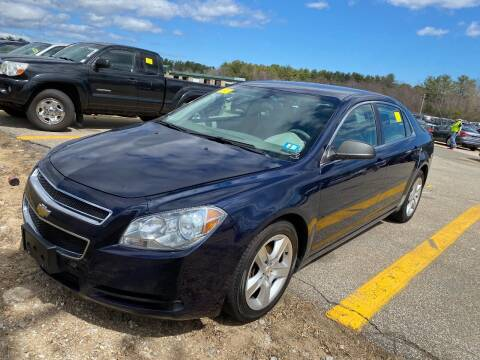 2010 Chevrolet Malibu for sale at Irving Auto Sales in Whitman MA