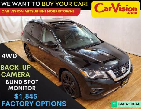 2017 Nissan Pathfinder for sale at Car Vision Mitsubishi Norristown in Trooper PA