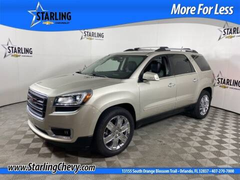 2017 GMC Acadia Limited for sale at Pedro @ Starling Chevrolet in Orlando FL