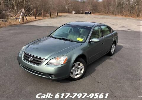 2004 Nissan Altima for sale at Wheeler Dealer Inc. in Acton MA