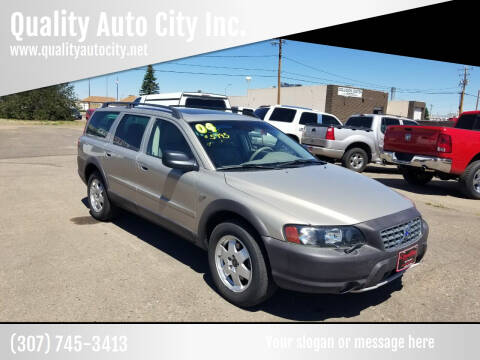 2004 Volvo XC70 for sale at Quality Auto City Inc. in Laramie WY