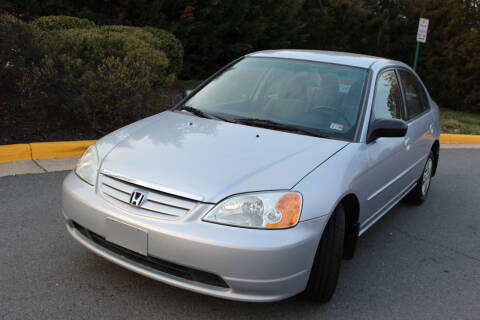 2003 Honda Civic for sale at Dulles Motorsports in Dulles VA