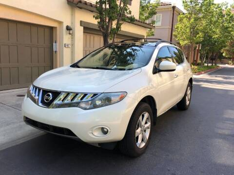 2010 Nissan Murano for sale at Hi5 Auto in Fremont CA