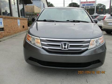 2013 Honda Odyssey for sale at Atlantic Motors in Chamblee GA
