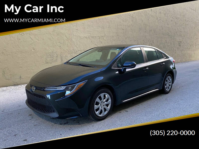 2020 Toyota Corolla for sale at My Car Inc in Pls. Call 305-220-0000 FL