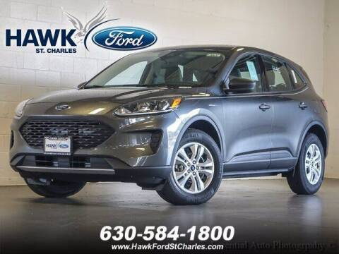 2020 Ford Escape for sale at Hawk Ford of St. Charles in St Charles IL