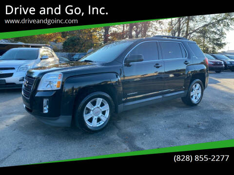 2013 GMC Terrain for sale at Drive and Go, Inc. in Hickory NC