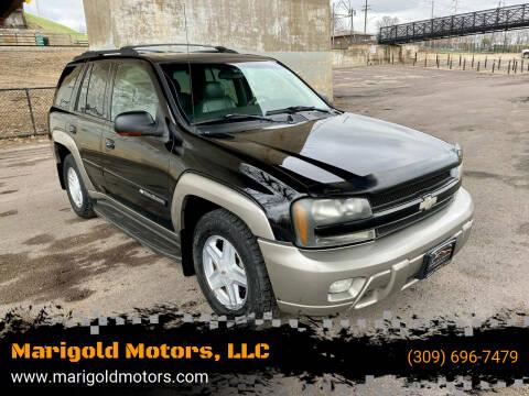 2002 Chevrolet TrailBlazer for sale at Marigold Motors, LLC in Pekin IL