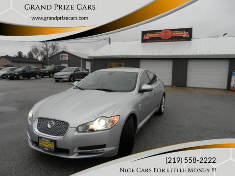 2010 Jaguar XF for sale at Grand Prize Cars in Cedar Lake IN