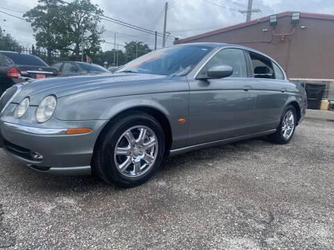 2004 Jaguar S-Type for sale at FAIR DEAL AUTO SALES INC in Houston TX