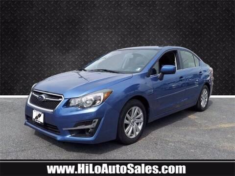 2015 Subaru Impreza for sale at Hi-Lo Auto Sales in Frederick MD