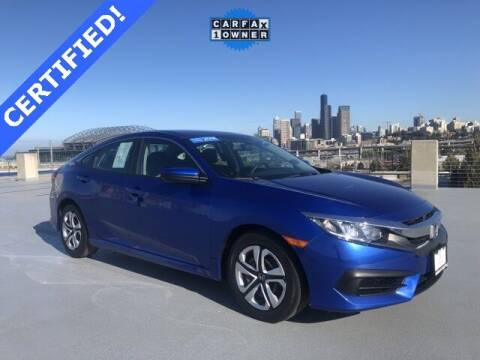 2018 Honda Civic for sale at Honda of Seattle in Seattle WA