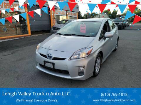 2011 Toyota Prius for sale at Lehigh Valley Truck n Auto LLC. in Schnecksville PA