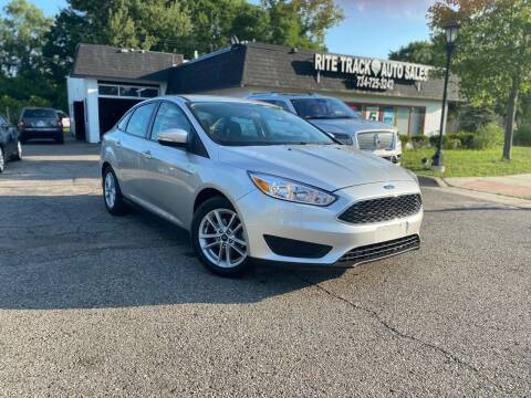 2017 Ford Focus for sale at Rite Track Auto Sales in Canton MI
