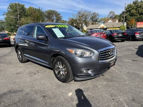 2013 Infiniti JX35 for sale at Costas Auto Gallery in Rahway NJ