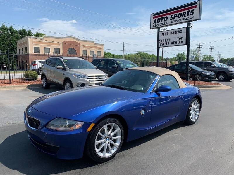 2007 BMW Z4 for sale at Auto Sports in Hickory NC