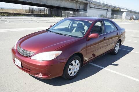 2004 Toyota Camry for sale at Sports Plus Motor Group LLC in Sunnyvale CA