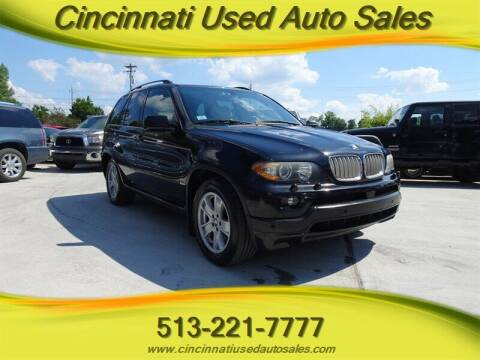 2006 BMW X5 for sale at Cincinnati Used Auto Sales in Cincinnati OH