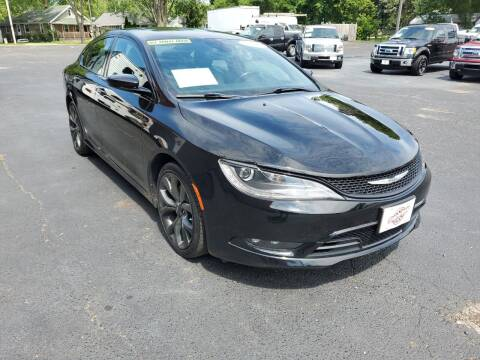 2015 Chrysler 200 for sale at Stach Auto in Janesville WI