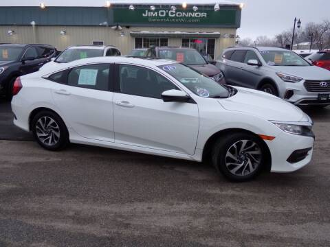 2016 Honda Civic for sale at Jim O'Connor Select Auto in Oconomowoc WI