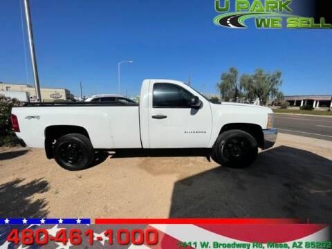 2012 Chevrolet Silverado 1500 for sale at UPARK WE SELL AZ in Mesa AZ
