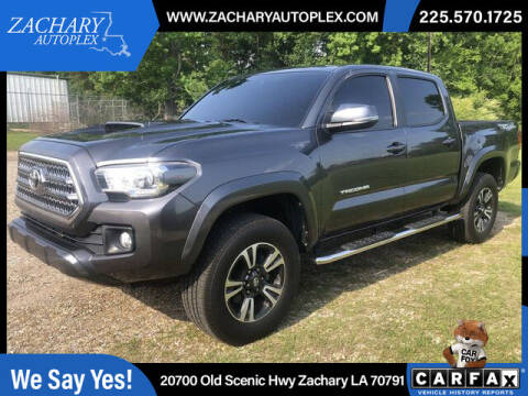 2016 Toyota Tacoma for sale at Auto Group South in Natchez MS