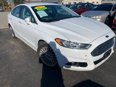 2014 Ford Fusion for sale at Rayyan Auto Mall in Lexington KY