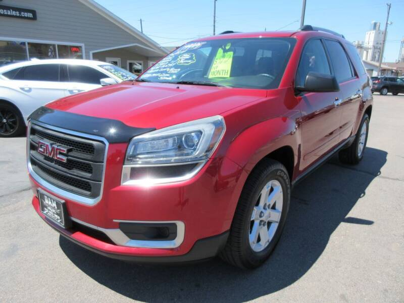 2014 GMC Acadia for sale at Dam Auto Sales in Sioux City IA