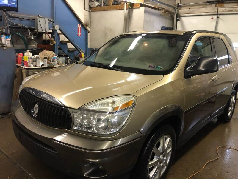 2005 Buick Rendezvous for sale at SARRACINO AUTO SALES INC in Burgettstown PA