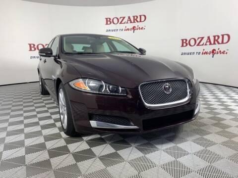 2015 Jaguar XF for sale at BOZARD FORD in Saint Augustine FL