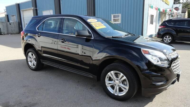2016 Chevrolet Equinox for sale at CENTER AVENUE AUTO SALES in Brodhead WI