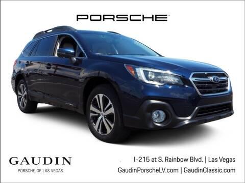 2018 Subaru Outback for sale at Gaudin Porsche in Las Vegas NV