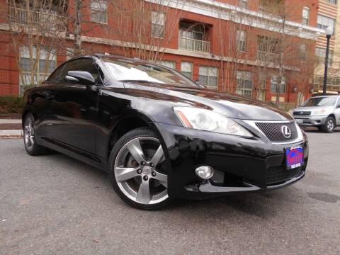 2010 Lexus IS 250C for sale at H & R Auto in Arlington VA